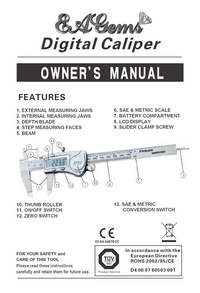 EAGems Caliper Manual
