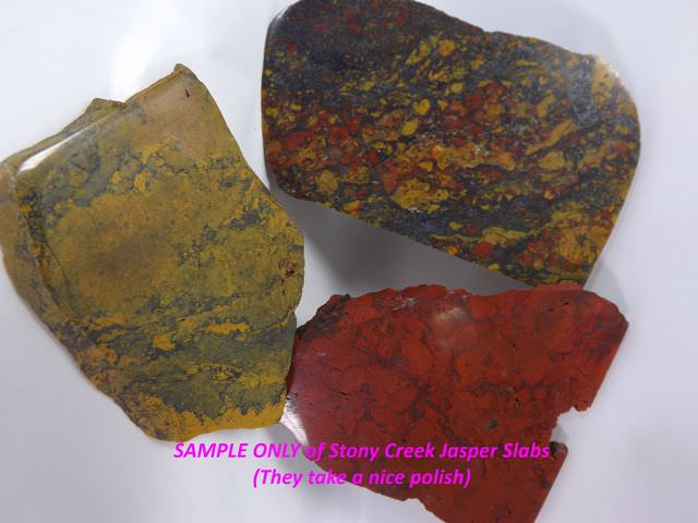 Sample of Slabs, Polished
